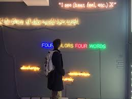CAN YOU FEEL ME ? JOSEPH KOSUTH