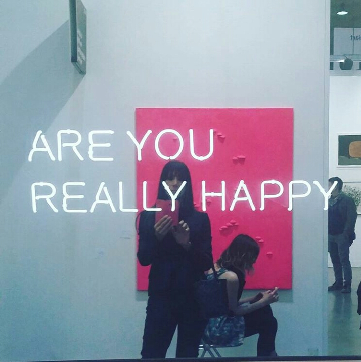 ARE YOU REALLY HAPPY? MIART